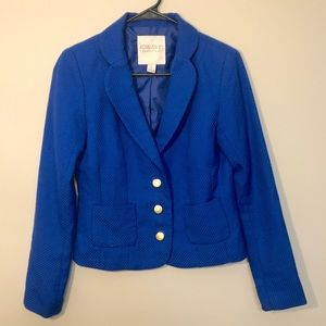 Forever 21 Royal Blue Blazer with gold buttons. XS